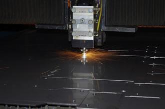 Gięcie blach CNC